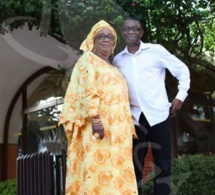 Youssou Ndour en compagnie de sa maman, Adjaratou Ndèye Sokhna Mboup