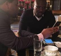 Moustapha Dieng Sen Art Vision  et le Dg DMédia Bougane Gueye Dany à Paris …