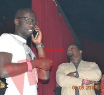 Les deux beaux fils de Thione Seck, Cheikh Mbengue et Bougane Gueye à Paris.