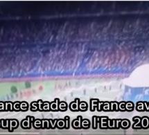 Vidéo: Ambiance au stade de France avant le coup d'envoi de l'Euro 2016 en match d'ouverture France Roumanie 1 1