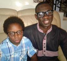 L'histoire de ce petit garçon, Thierno avec le chanteur Pape Diouf.