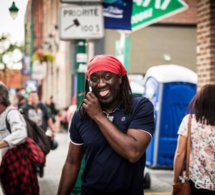 Elage Diouf en tournée américaine