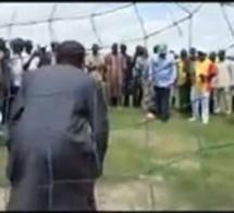 Abdou Mbow (député) se transforme en gardien de but et défie le ministre Mame Mbaye Niang