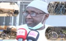 """Remise de don médical à l'hôpital """"Téfesse"""" le maire de Mbour Fallou Sylla salue l'acte de Diatou Diop Pdte association Miroir citoyenne"""