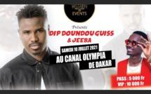 Mo Gates Events avec du lourd au Canal Olympia avec le duo Dip Doundou Guiss et Jeeba