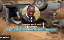 """Réaction de Mbaye Pekhe après son accident: 'Je vais très bien. Abdoulaye Diouf Sarr est..."""""""
