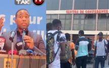 URGENT: Bougane Guéye présente ses excuses du retard à la presse et pas des affabulations qu'on lui colle.